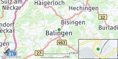 Google Map of Balingen
