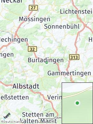 Here Map of Burladingen