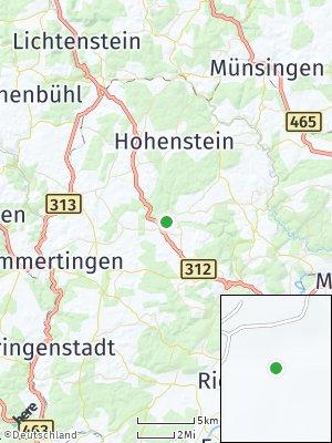 Here Map of Pfronstetten