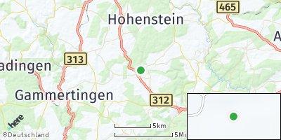 Google Map of Pfronstetten