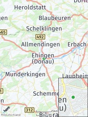 Here Map of Ehingen an der Donau