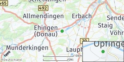 Google Map of Öpfingen