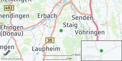 Google Map of Hüttisheim