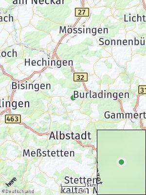 Here Map of Onstmettingen