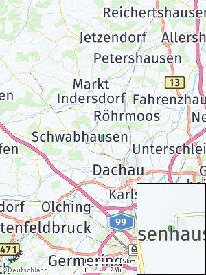 Here Map of Assenhausen