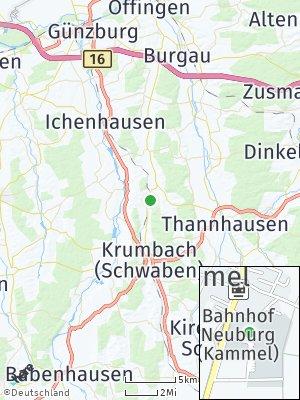 Here Map of Neuburg an der Kammel