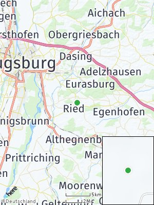 Here Map of Ried bei Mering