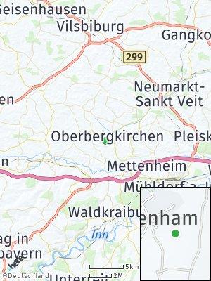 Here Map of Oberbergkirchen