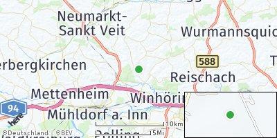 Google Map of Pleiskirchen