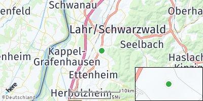 Google Map of Kippenheim