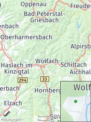Here Map of Wolfach
