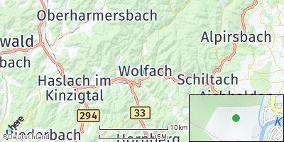 Google Map of Wolfach