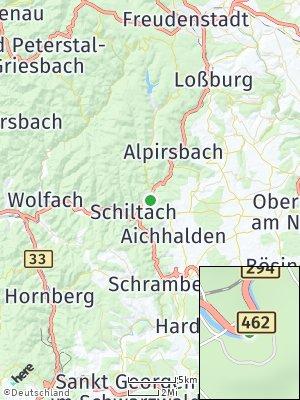 Here Map of Schenkenzell