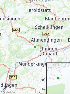 Here Map of Altsteußlingen