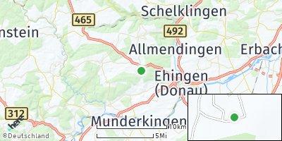 Google Map of Altsteußlingen