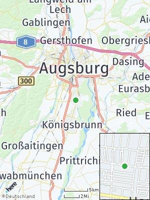 Here Map of Haunstetten