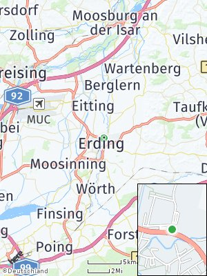 Here Map of Sankt Paul