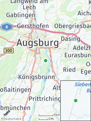 Here Map of Siebenbrunn