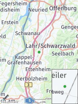 Here Map of Kippenheimweiler