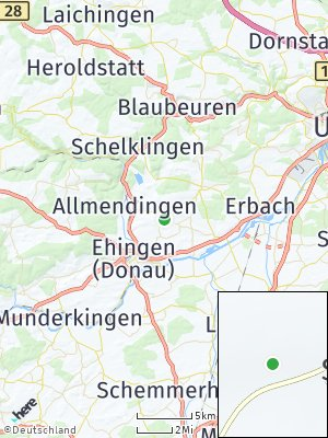Here Map of Blienshofen