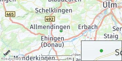 Google Map of Blienshofen
