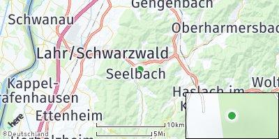 Google Map of Seelbach