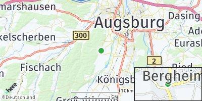 Google Map of Bergheim