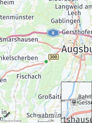 Here Map of Gessertshausen