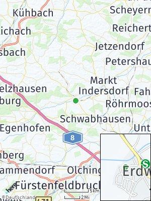 Here Map of Erdweg
