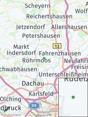 Here Map of Röhrmoos