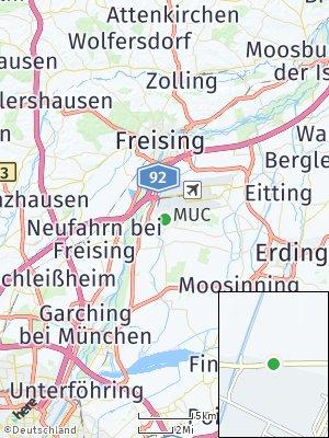 Here Map of Hallbergmoos