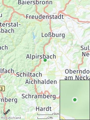Here Map of Alpirsbach