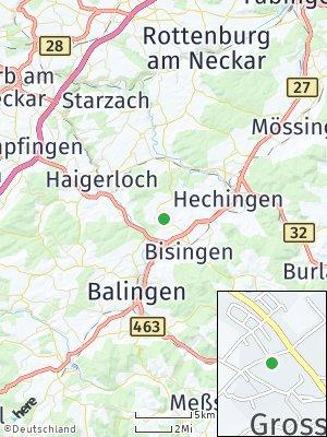 Here Map of Grosselfingen