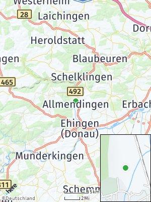 Here Map of Allmendingen