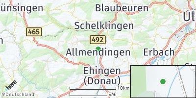 Google Map of Allmendingen