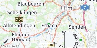 Google Map of Erbach