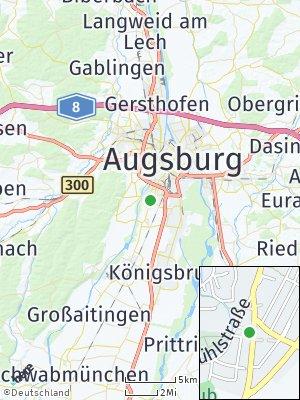 Here Map of Göggingen
