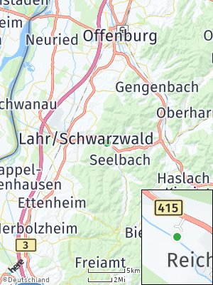 Here Map of Kuhbach