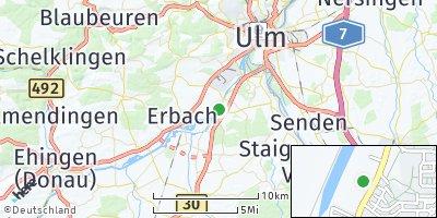 Google Map of Donaustetten