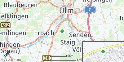 Google Map of Unterweiler