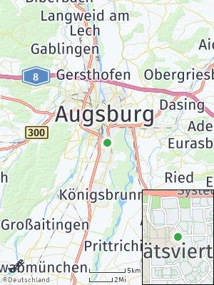 Here Map of Universitätsviertel