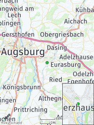Here Map of Rederzhausen