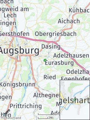 Here Map of Hügelshart