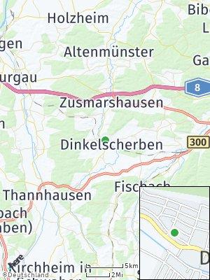 Here Map of Dinkelscherben