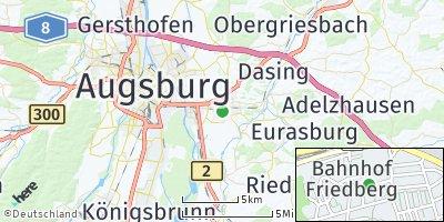 Google Map of Friedberg