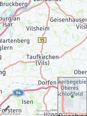 Here Map of Taufkirchen