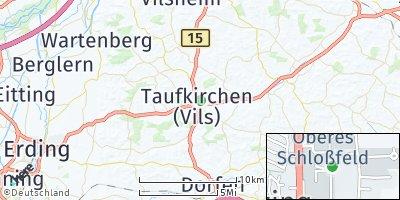 Google Map of Taufkirchen
