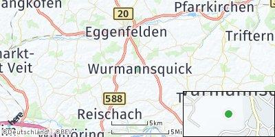 Google Map of Wurmannsquick