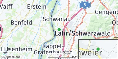 Google Map of Schwanau