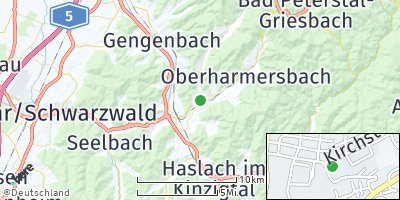 Google Map of Zell am Harmersbach